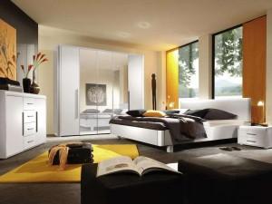 Дизайн спальной комнаты с этническом стиле