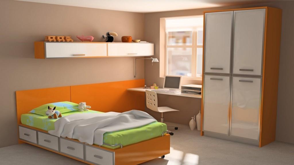 Мебель для детской комнаты в светлых тонах