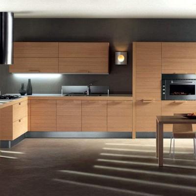 Кухня из массива дерева № 012