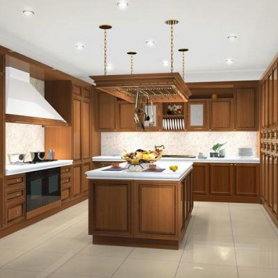 Кухня из массива дерева № 016