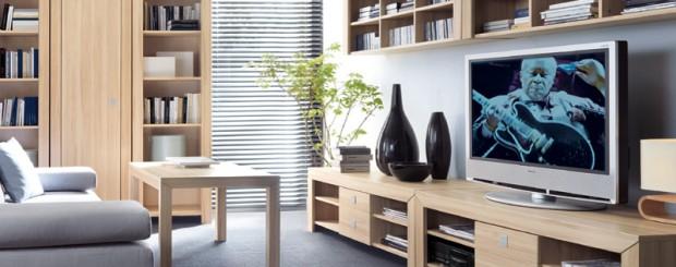 Мебель для гостиной из массива дерева