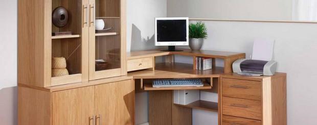 Мебель для домашнего офиса из массива дерева
