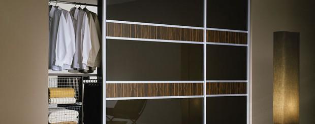 Встроенный шкаф-купе 2-х дверный