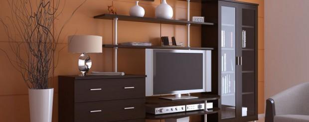 Корпусная мебель для гостиной из МДФ