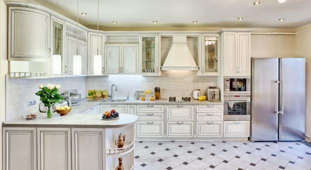 Кухня в классическом стиле из МДФ