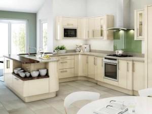Кухня в стиле модерн № 002