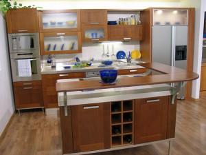 Кухня в стиле модерн № 004