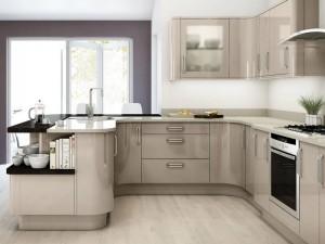 Кухня в стиле модерн № 008