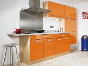 Кухня в стиле модерн № 012
