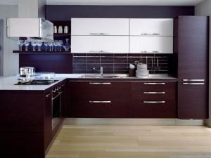 Кухня в стиле модерн № 018