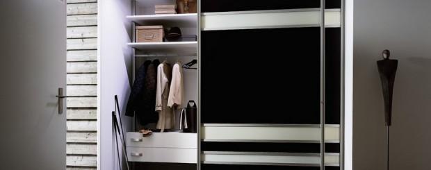 Шкаф-купе для прихожей № 004