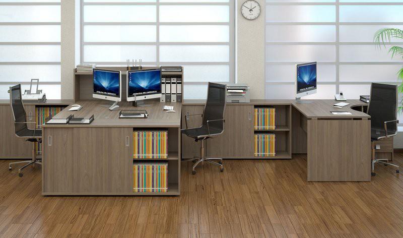 Офисная мебель из ламината
