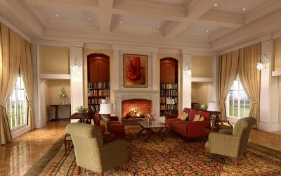 Дизайн интерьера в стиле классицизм