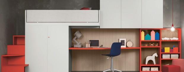 Современная модульная мебель для детской комнаты