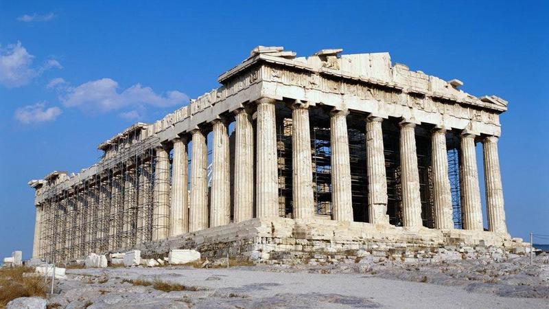 Парфенон — древнегреческий памятник античной архитектуры