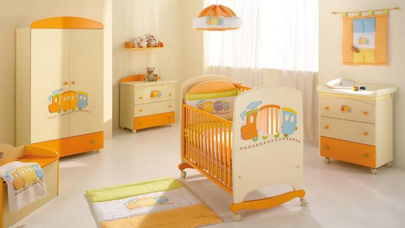 Планировка комнаты для маленького ребёнка
