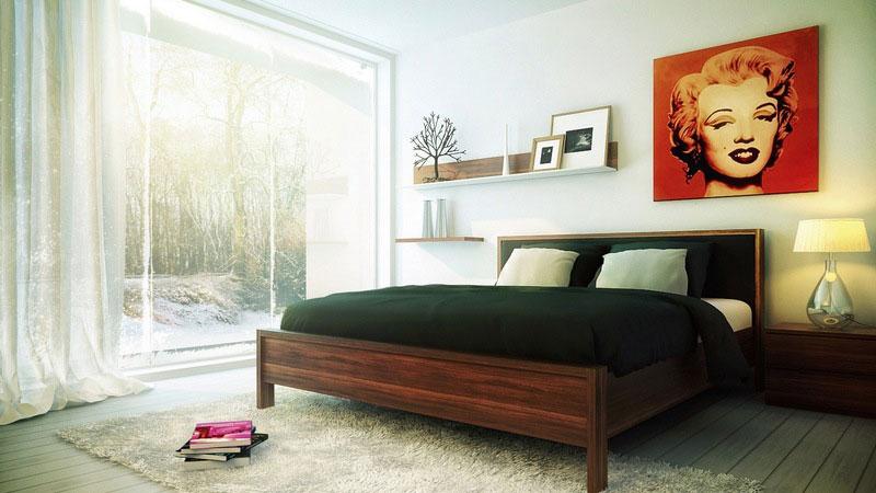 Поп-арт кровать